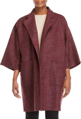Max Mara Three-Quarter Sleeve Cashmere Coat