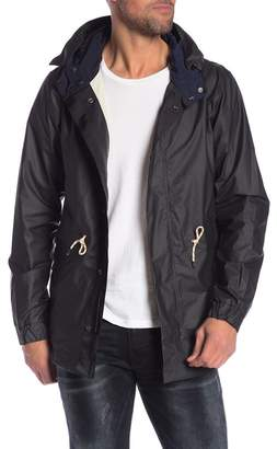 Scotch & Soda Water Resistant Hooded Parka