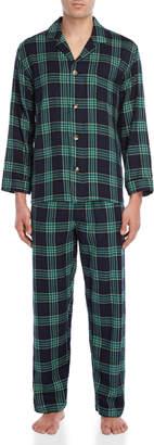 Izod Two-Piece Flannel Pajama Set