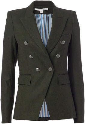 Veronica Beard Miller Dickey Green Jacket