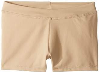Capezio Team Basic Boycut Low Rise Shorts Girl's Shorts