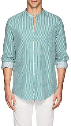 Massimo Alba Men's Striped Cotton Twill Shirt