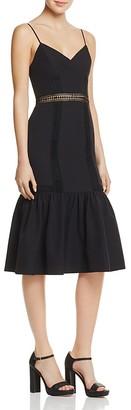 AQUA Flounce Hem Dress - 100% Exclusive $98 thestylecure.com