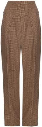 Preen by Thornton Bregazzi Austin hound's-tooth wide-leg trousers