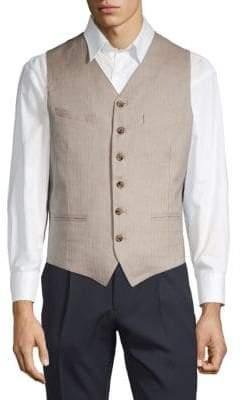Eleventy Classic V-Neck Vest