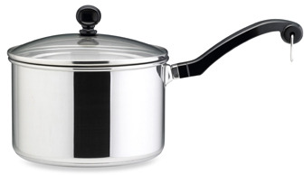 Farberware Classic Series II Stainless Steel 3-Quart Covered Sauce Pan