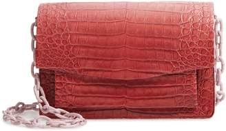 Nancy Gonzalez Medium Genuine Crocodile Crossbody Bag