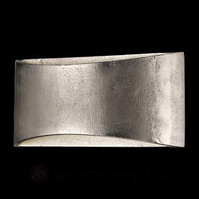 Dimmbare LED-Wandlampe Shine Alu nickel antik 2f
