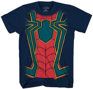 Spiderman Novelty T-Shirts Short Sleeve Crew Neck T-Shirt Boys