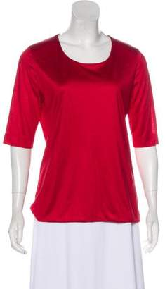 Akris Silk Short Sleeve Top w/ Tags