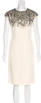 Bottega Veneta Appliqué Sheath Dress
