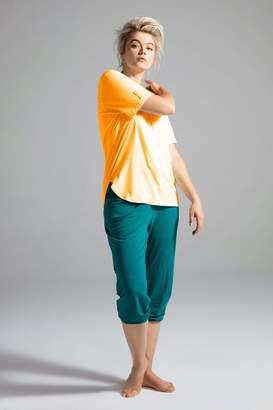 Shegul Hath Scoop Neck -Marigold Top Size Large