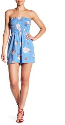 Cotton On & Co. Viola Smocked Floral Playsuit