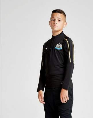 Puma Newcastle United FC 1/4 Zip Top Junior