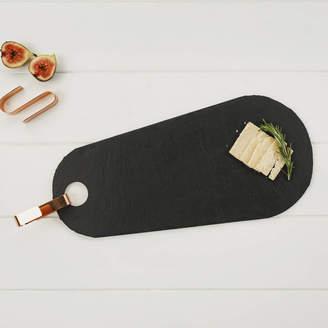 Marquis & Dawe Tear Drop Slate Board With Copper Hook