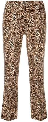 Pt01 leopard printed trousers