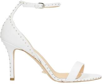 The Seller Studs White Sandals