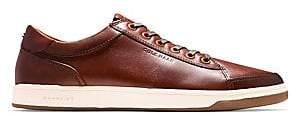 Cole Haan Men's GrandPro Spectator Leather Low-Top Sneakers