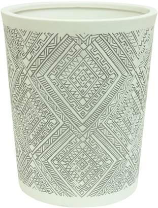 Bacova Guild Cedar Creek Porcelain Wastebasket