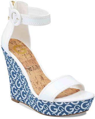 G by Guess Donny Wedge Sandal - Women's