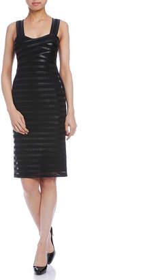 Paola Frani (パオラ フラーニ) - PAOLA FRANI テープディテール ストラップ ドレス ブラック 36
