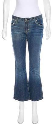 Paper Denim & Cloth Mid-Rise Straight-Leg Jeans