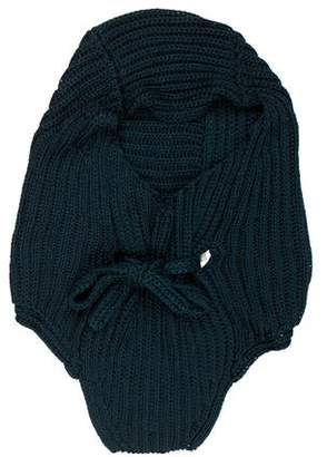 Saint Laurent Knit Silk-Blend Cowl