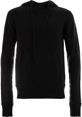 Ziggy Chen hooded knit jumper