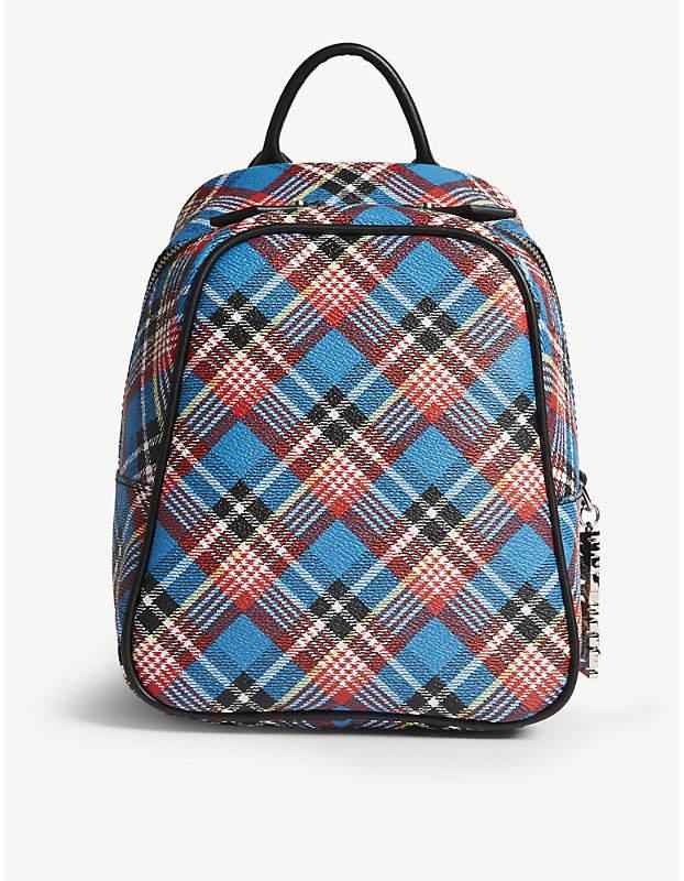 Vivienne Westwood Anglomania Shuka leather mini backpack
