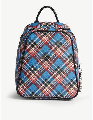 Vivienne Westwood Shuka leather mini backpack