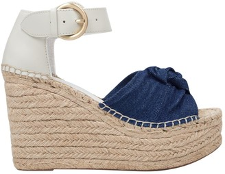 Marc Fisher Anty Platform Wedge Espadrille Sandals