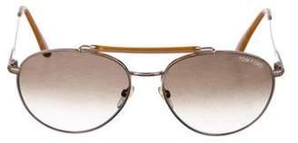Tom Ford Colin Aviator Sunglasses