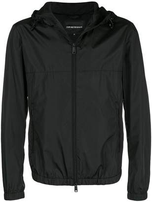 Emporio Armani lightweight hooded jacket