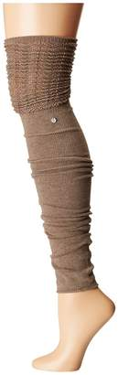 toesox Sasha Leg Warmer Thigh-High Women's Crew Cut Socks Shoes