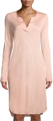 Hanro Malie Long-Sleeve Nightgown