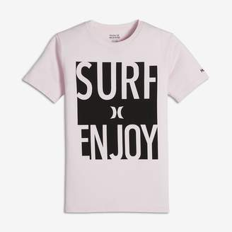 Hurley Surf and Enjoy Big Kids' (Boys') T-Shirt
