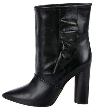 IRO Leather Pointed-Toe Boots