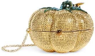 Judith Leiber Crystal Pumpkin Clutch Bag