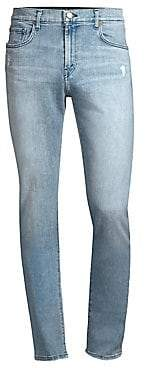 J Brand Men's Mick Distressed Slim-Fit Jeans