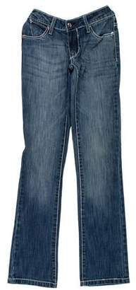 Paper Denim & Cloth Mid-Rise Straight-Leg Jeans w/ Tags