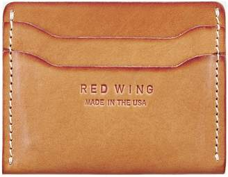 Red Wing Shoes Leather Card Case