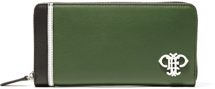 Emilio PucciEmilio Pucci Color-block leather wallet