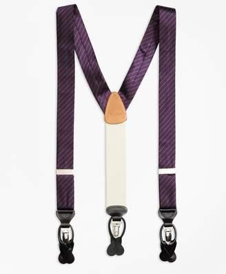 Brooks Brothers Tonal Stripe Suspenders