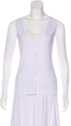 MM6 MAISON MARGIELA Knit Button-Up Cardigan w/ Tags