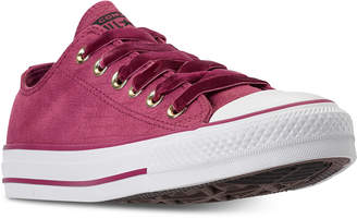 Converse Women Chuck Taylor Ox Casual Sneakers from Finish Line