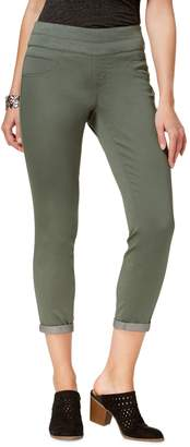 Style&Co. Style & Co. Rolled-Hem Cotton Blend Skinny Pants
