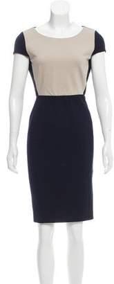 Max Mara Knee-Length Cap Sleeve Dress