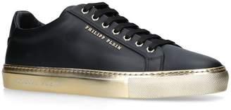 Philipp Plein Leather Sneakers
