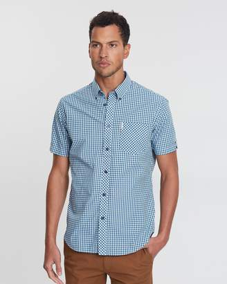 Ben Sherman SS Core Gingham Shirt