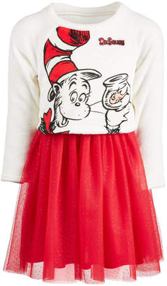 Hybrid Little Girls Cat In The Hat Layered-Look Dress